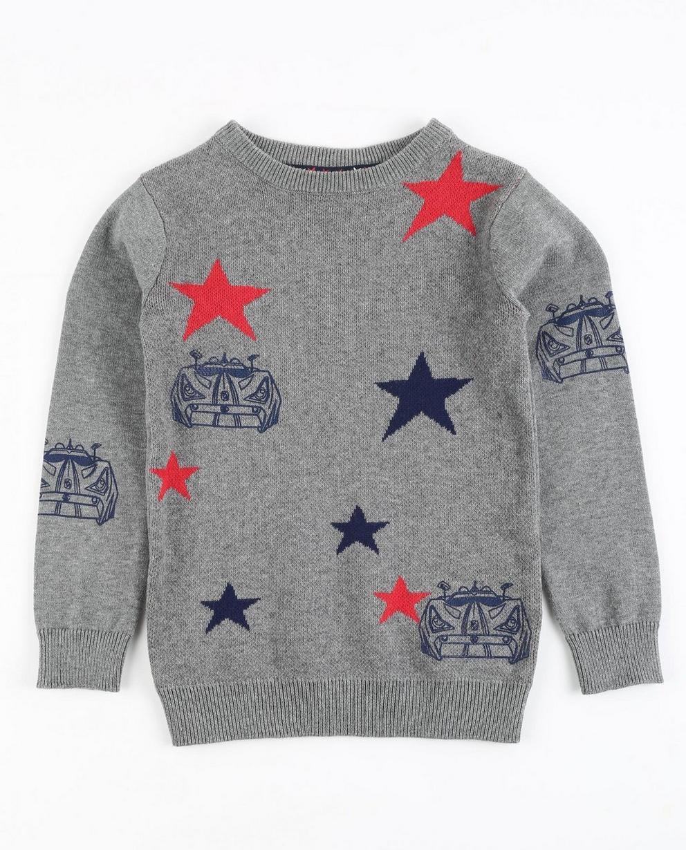 Pullover mit Sternenprint - Rox - Rox
